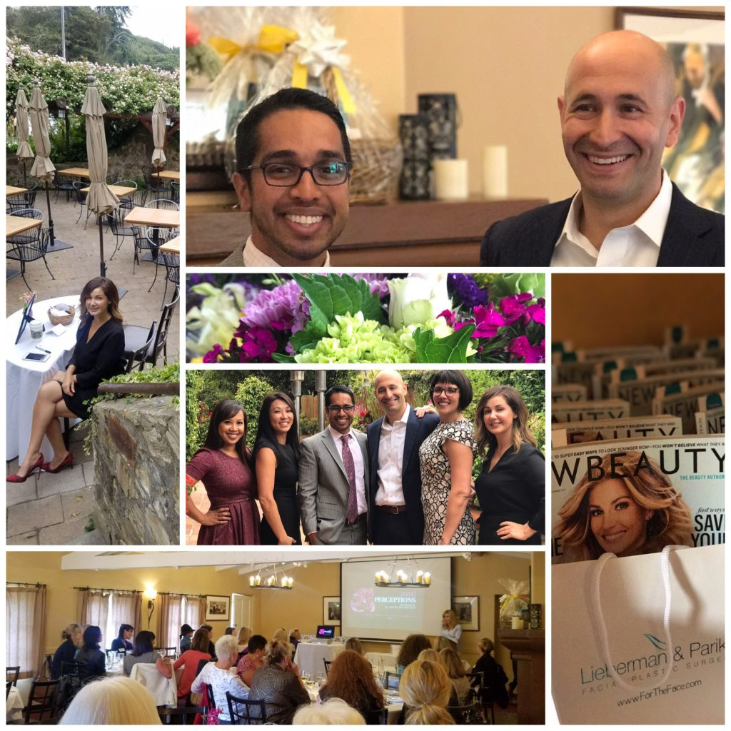 montage from the Art of Beauty event
