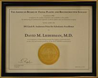 Dr. David M. Lieberman award