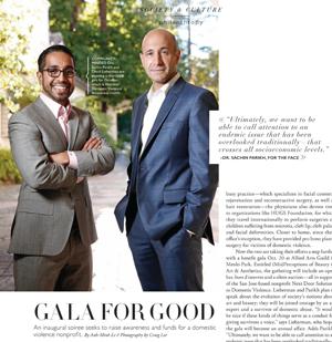 Drs. Lieberman & Parikh featured in Silicon Valley Magazine